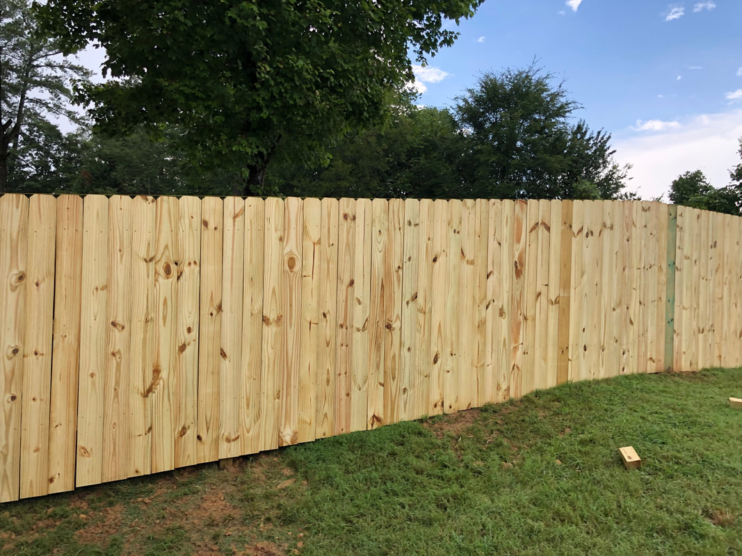6 foot Privacy Fence Kannapolis NC